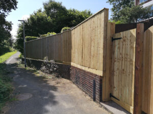Feather Board Fence